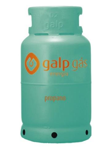 Garrafa de gás propano 11 Kg (fase liquida)