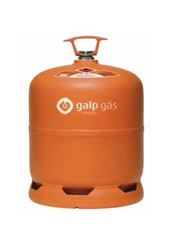 Garrafa de gás butano 2.750Kg (miní gás)